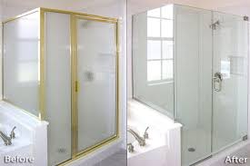 images of replace sliding shower door with frameless