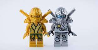 Lego Ninjago gold & titanium   Cool lego creations, Lego pictures, Cool lego