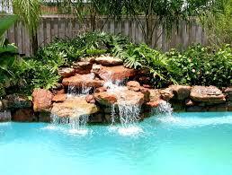 Best Pool Waterfall Ideas On Pinterest Grotto Pool Outdoor