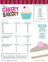 Bakery Menu Google Search Annette 04 In 2019