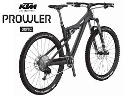 Ktm prowler 150mm carbon enduro adventure all mountain bike rendering