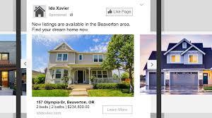 Real Estate Ad Idx Broker Platinum Dynamic Ads For Real Estate By Facebook