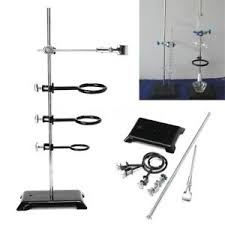 61cm Chemistry Lab Laboratory Supplies Support Ring Stand Base 3