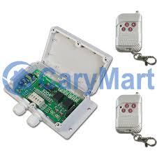 2CH AC 110V 220V Wireless Remote Control Transmitter Receiver