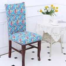 european fl pattern stretch elastic chair cover colorful