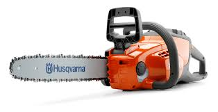 lightweight but powerful 120i cordless battery chainsaw