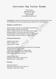 Zumba Instructor Resume Objective. horse trainer cover letter 70 images  administrative assistant