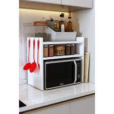 Bayz Mikrodalga Fırın Standı Mutfak Tezgah Üstü Raf Fiyatı