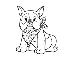 Small Picture French Bulldog Coloring Pages Miakenasnet