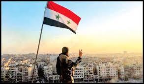 Image result for آمریکا و اسرائیل پرچم سفید را بالا بردند