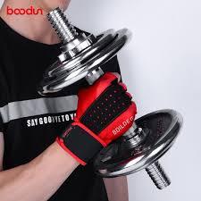 <b>BOODUN Men Women Gym</b> Gloves Extended Wristband Fitness ...