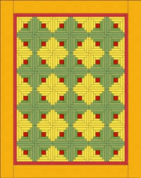 inspiration log cabin layouts quilting tutorial from