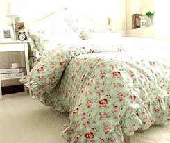 shabby chic bedding shabby chic bedding garden bed in a bag sets full intended for king