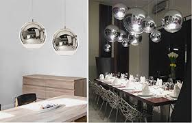 kitchen table light fixtures bowl. Kitchen Table Light Fixtures Bowl Elegant Injuicy Lighting Tom Dixon Globe Silver Electroplate Glass Pendant N