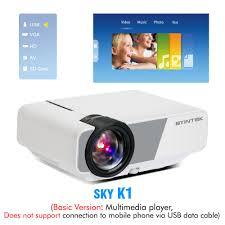 [4] BYINTEK SKY K1/K1plus LED Portable <b>Home Theater HD Mini</b> ...