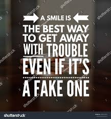 Motivational Quotes Life Smile Best Way Stock Photo Edit Now