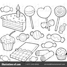 Small Picture Dessert Coloring Pages jacbme