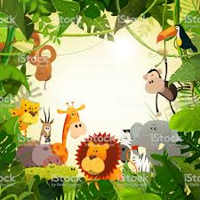 jungle animal background. Beautiful Background Wildlife Jungle Animals Background Royaltyfree Wildlife Jungle Animals  Background Stock Vector Art U0026amp With Animal 4