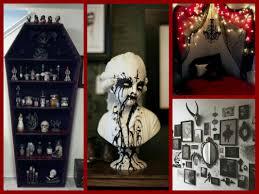 Gothic Halloween Decor Ideas Goth Room Decor Inspiration Youtube Goth  Bedroom Decorating Ideas