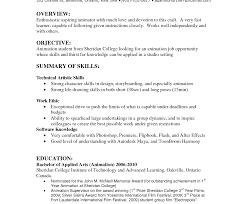 Colorful Factory Resume Objectives Sketch Resume Ideas Namanasa Com