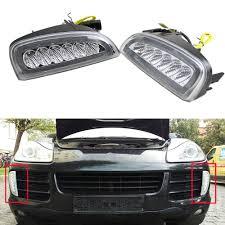 2x E4 R87 LED Daytime Running Lights DRL Case for Porsche Cayenne ...
