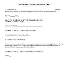 Where to sign vehicle title over to auto insurance company. Auto Insurance Verification Letter Sample Letters Templates