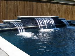 Diy Pool Waterfall Diy Pool Waterfall Home Design Ideas