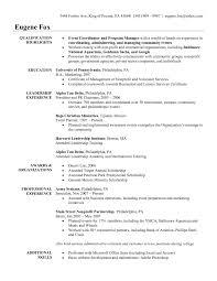 Planner Resume Sample Sample Event Planner Resume Resume Samples 4
