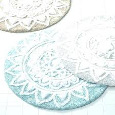 round bathroom rugs large om mats most splendid round bath rugs oval extra long in blue
