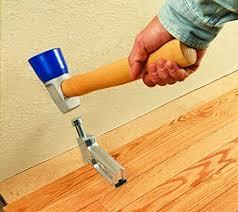 hardwood flooring nailer close to walls