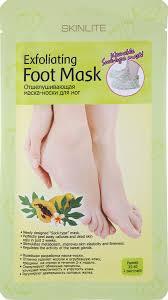 Skinlite Отшелушивающая <b>маска</b>-носки для <b>ног</b>, размер 35-40, 1 ...