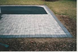 square concrete paver patio. The Strengths Of Outdoor Pavers Square Concrete Paver Patio