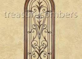 >14 tuscan wrought iron wall decor metal wall decor home wall  tuscan scroll wrought iron wall basket planter french