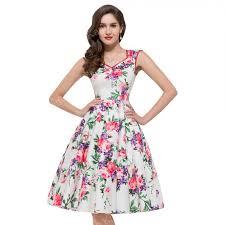 Floral Pattern Dress Cool Decorating