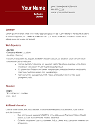 free resume templatesresume template  effective resume template