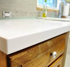 our white corian counters are in and we love them young house within countertops inspirations 49