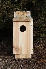 cedar birdhouse plan