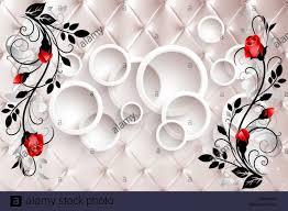 Flower Design Wallpaper 3d 3d Flower Wallpaper 3d Background Stock Photo 329199968 Alamy