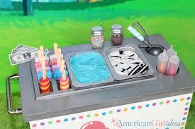 diy american girl doll ice cream cart american girl ideas american girl ideas