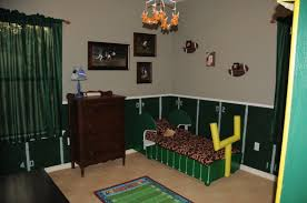 Diy Football Room Decor Football Bedroom Decorating Ideas For A Cool Bed On Sports  Themed Bedrooms