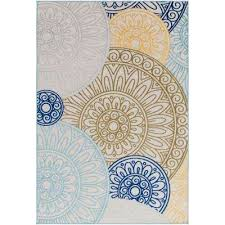 indoor outdoor rugs 8 10 8 x 10 medallion bohemian outdoor rugs rugs the home depot