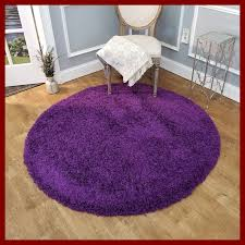 burns solid purple area rug rug size round 5