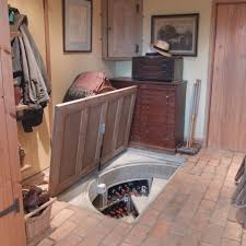 Wine Cellar In Kitchen Floor Clever Kitchen Trap Door