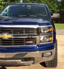 Wheel Offset 2014 Chevrolet Silverado 1500 Aggressive 1 Outside ...