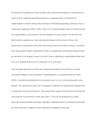 against corporal punishment essay essay about the case against corporal punishment 787 words