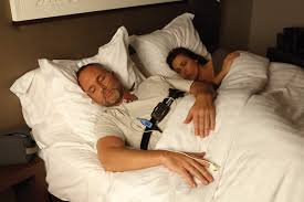 man ting in home sleep study