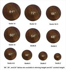 traditional 32 inch round table of party al s sizes tables smith als