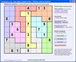 Sudoku Puzzel Solver Puzzlemix Com How To Solve Jigsaw Sudoku Puzzles
