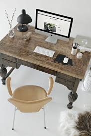 new office desk. workspace inspiration stylizimo new office desk