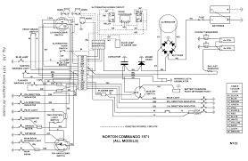 norton commando workshop manual norton 1971 wiring diagram all models